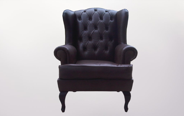 Leather Arm Chair - Furniture Re-Upholstery - Southern Suburbs