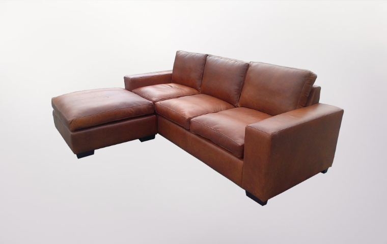 Leather Corner Unit - Furniture Re-Upholstery - Southern Suburbs