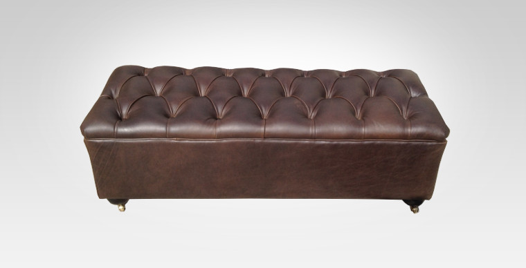 Leather Ottoman - Furniture Re-Upholstery - Southern Suburbs