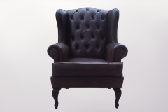 Leather Arm Chair - Furniture Re-Upholstery - Kenwyn