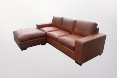 Leather Corner Unit - Furniture Re-Upholstery